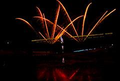 Fireworks - Coruche (Capturedbyhunter) Tags: fernando caçador marques fajarda coruche ribatejo sorraia santarém portugal pentax lx samyang 14mm f28 fireworks light movement luz em movimenyo analog film 35mm manual focus focagem foco hiper focal distance distância hiperfocal pentaxart
