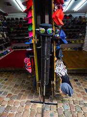 The Hat Shop (Steve Taylor (Photography)) Tags: uk gb greatbritain hat goggles cap fashion shop store england unitedkingdom london camdenstablesmarket