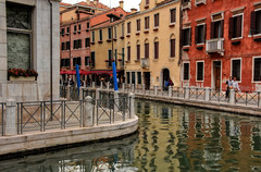 The Ripples of Venice (henriksundholm.com) Tags: city oldtown canal bend corner ripples buildings architecture houses urban venice veneto italy italia hdr