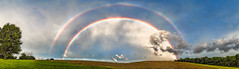 8R9A0727-31PRtzMzl1TBbGERk (ultravivid imaging) Tags: ultravividimaging ultra vivid imaging ultravivid colorful canon canon5dm3 clouds sunsetclouds stormclouds scenic sky rainyday rural rainbow fields farm trees tree twilight countryscene pennsylvania pa panoramic landscape latesummer
