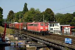 Rpool 151 146 Wetter (Ruhr) Obergrabenbrücke 25.08.2019 (Bernd Magiera) Tags: rpool br151 strecke2801