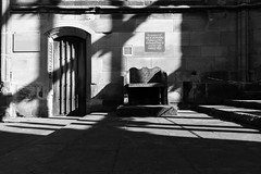 Architecture (lightersideofdark) Tags: blackwhite dark streephotography street outside outdoors urban shadows cathedral coventrycathedral religion religious god photography stmichael medieval