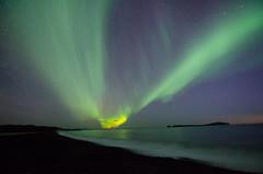 Is this STEVE? (stephen_price) Tags: steve nikon d7000 aurora iceland northern lights tokina1116mm green