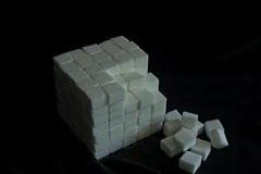 Cube of Cubes (brucerobertson89) Tags: nikond500 on1photoraw2019 sugar cube stilllife blackbackground