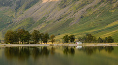 Bothy (selvagedavid38) Tags: lakedistrict nationalpark bothy house shore lake lakeside water buttermere cumbria england mountains green trees pines