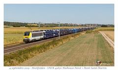 HLE 1348 SNCB - Hochfelden (CC72080) Tags: hle13 hle sncb gefco série13 hochfelden train treno vlak zug güterzug lokomotive locomotive locomotiva lokomotiva autozug peugeot citröen psa alsace grandest