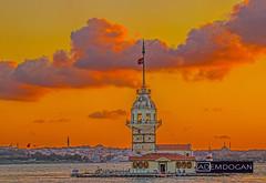 ISTANBUL (01dgn) Tags: kizkulesi maidenstower istanbul türkiye türkei turkey europa europe avrupa sunlights sunset tele canoneos77d travel urban holiday city cityscape landscape landschaft manzara