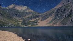 Night (Luc1659) Tags: night mountain lake alpi valseriana italy silenzio tranquillità fresco blu notte stelle cielo