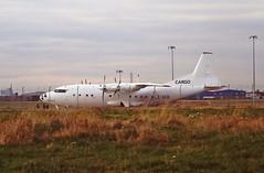 LZ-SFK An12 Air Sofia CVT Oct-94 (cvtperson) Tags: lzsfk an12 air sofia coventry airport cvt egbe