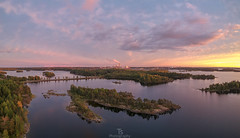 September (Taavi Salakka) Tags: lappeenranta dji sunset water landscapes lakescape sky horizont lake waterscape waterrelated island wideangle spark drone photography reflection evening dusk saimaa suomi finland
