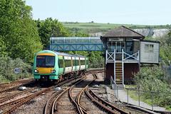 171729 Lewes (CD Sansome) Tags: lewes station southern rail tsgn gtr govia thameslink railway east coastway line train trains 171 171729 turbostar