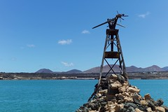 Very old windmill (•Nicolas•) Tags: canaryislands holidays lanzarote m9 nicolasthomas spain windmill ruin colors salines