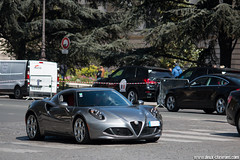 Spotting 2017 - Alfa Romeo 4C (Deux-Chevrons.com) Tags: alfaromeo4c alfa romeo 4c alfaromeo car coche voiture auto automobile automotive spot spotted spotting croisée rue street paris france carspotting sportcar gt exotic exotics onroad