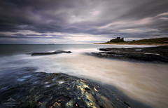 A long and illustrious history. (lawrencecornell25) Tags: castle northumberland northeastengland bamburghcastle bamburgh beach coast uk landscape waterscape scenery scenic history nikond5 longexposure travel adventure