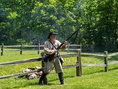 IMGPL05316_Fk - Spring Mill State Park - Civil War Days (David L. Black) Tags: mitchell indiana unitedstatesofamerica stateparks springmillstatepark civilwarreenactment olympusomdem1x olympus40150f2814xtc