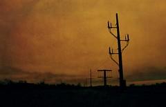 apocalypse (Bo Dudas) Tags: apocalypse sunrise sunset silhouette orange mono globalwarming war