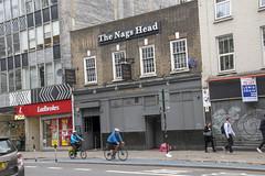 DSC_6110 London Bus Route #205 Whitechapel The Nags Head Exotic Dancer Bar (photographer695) Tags: london bus route 205 whitechapel the nags head exotic dancer bar