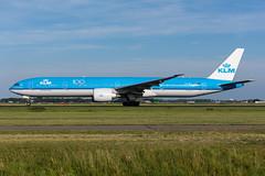 PH-BVI - KLM Royal Dutch Airlines - Boeing 777-306(ER) (5B-DUS) Tags: phbvi klm royal dutch airlines boeing 777306er b773 ams eham amsterdam schiphol airport aircraft airplane aviation flughafen flugzeug planespotting plane spotting