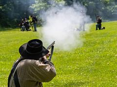 IMGPL05309_Fk - Spring Mill State Park - Civil War Days (David L. Black) Tags: mitchell indiana unitedstatesofamerica stateparks springmillstatepark civilwarreenactment olympusomdem1x olympus40150f2814xtc