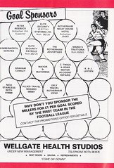 Rotherham United vs Wigan Athletic - 1986 - Page 6 (The Sky Strikers) Tags: rotherham united wigan athletic millmoor we stand official matchday programme football league division three 50p