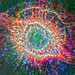 Helix Nebula in Infrared, variant