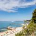 Strand Ovcice in Split, Kroatien