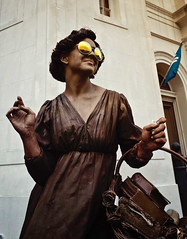 Street Performer,   Chartres St., New Orleans, LA (mizmackey) Tags: ricoh grii raw neworleans streetphotography frenchquarter