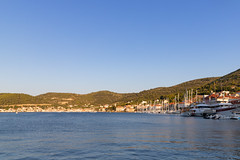 Fährhafen Vis in Kroatien