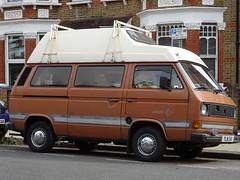 1981 Volkswagen Transporter Camper Van (Neil's classics) Tags: 1981 volkswagen transporter camper van t3 t25 vw camping motorhome autosleeper motorcaravan rv caravanette kombi mobilehome dormobile