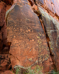 Remembering Those Who Came Before, Plate II (zpeckler) Tags: arizona desert sedona nativeamerican firstnations petroglyphs pictographs precolumbianculture