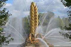 Фонтан «Золотой колос» (Angelok-Happy) Tags: москва фонтанзолотойколос брызги капельки вода moscow walk fountain goldenear pond beauty nature droplets water spray