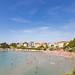 Strand Bacvice in Split, Kroatien