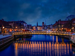 Frederiksholm kanal, Copenhagen in blue hour (ibjfoto) Tags: city cityscape copenhagen danmark denmark frederiksholmkanal ibjensen ibjfoto københavn urban urbanlandscapes canal kanal