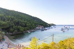 Stoncica beach bay on Vis island, Croatia