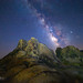 Milky Way Over the Alabama Hills