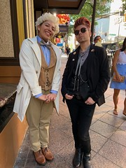 Aziraphale and Crowley, Good Omens (marakma) Tags: dragoncon dragoncon2019 cosplay aziraphale crowley goodomens