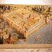 Painting of the Diocletian's Palace in Split, Croatia