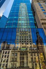 Reflections (JMS2) Tags: nyc manhattan building skyscraper reflections windows glass street