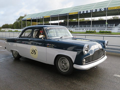 Ford Zodiac (jane_sanders) Tags: goodwood westsussex sussex goodwoodrevival revival motorcircuit testing test fordzodiac ford zodiac