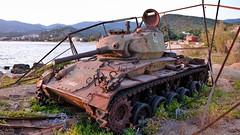 Alter Panzer (Sanseira) Tags: griechenland greece lesvos lesbos plomari tank panzer relikt krieg