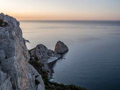Mount Cat, Crimea, Russia. Below - the berth of Simeiz. (alexinspire2) Tags: berth simeiz crimea russia mount cat крым россия гора кошка симеиз