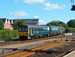 143618 Exeter St Davids (Marky7890) Tags: gwr 143618 class143 pacer 2t24 exeterstdavids railway devon devonmainline train