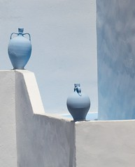 Pots (dimitratrovas) Tags: highlights pots greece blue summer summertimegladness cropped canon white travel getoutstayout
