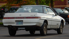 1989 Subaru XT GL 4WD (mlokren) Tags: 2019 car spotting photo photography photos pic picture pics pictures pacific northwest pnw pacnw oregon usa vehicle vehicles vehicular automobile automobiles automotive transportation outdoor outdoors 1989 subaru xt gl coupe white 4wd