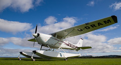 G-DRAM Cessna 172, Scone (wwshack) Tags: ce172 cessna cessna172 egpt psl perth perthkinross perthairport perthshire scone sconeairport scotland skylane floatplane gdram