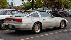 Nissan 300ZX (mlokren) Tags: 2019 car spotting photo photography photos pic picture pics pictures pacific northwest pnw pacnw oregon usa vehicle vehicles vehicular automobile automobiles automotive transportation outdoor outdoors nissan 300zx gold beige