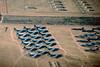 AMARC Apr 99 (3) (Al Henderson) Tags: amarc arizona aviation b52 b52g boeing davismonthanafb tuscon usaf boneyard desert military storageusaf stratofortress
