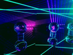 "IMAG5971~2 (LewDude) Tags: lasers lightart structuredlight vaporwaveart vaporwaveaesthetic outrun rad laserbeams refraction reflection photons spaceart tron vaporwave diffraction synthwave whoa homemade diy science diodes current optics orb physics vaporwaveart""""albumart""""opart""lasergeometricabstractabstract artabstract photography"" ""psychedelic"" trippy photography artist ""geometric art"" neon"