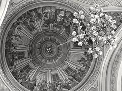 Sound of silence (Seefahrer) Tags: silence dome church ortodox civilization architecture fresco blackandwhite blackwhite road belief