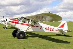 G-AREO (GH@BHD) Tags: gareo piper pa18 pa18150 pipercub cub supercub laa laarally laarally2019 sywellairfield sywell aircraft aviation